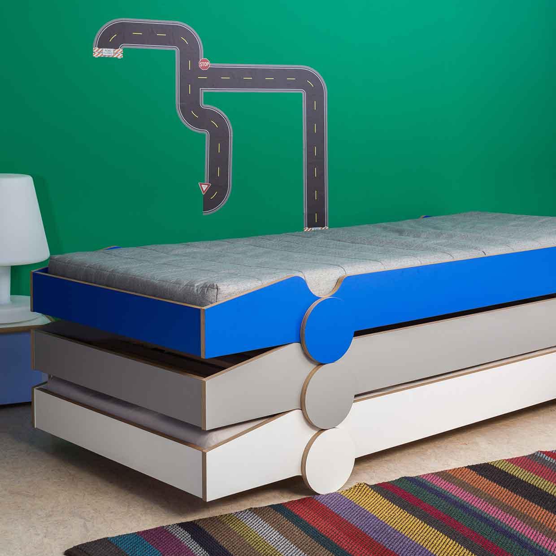 Speedoletto Stackable Bed For Children By De Breuyn M Bel