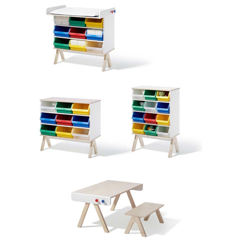 Familie garage modern kids furniture system by richard for Modern furniture sites