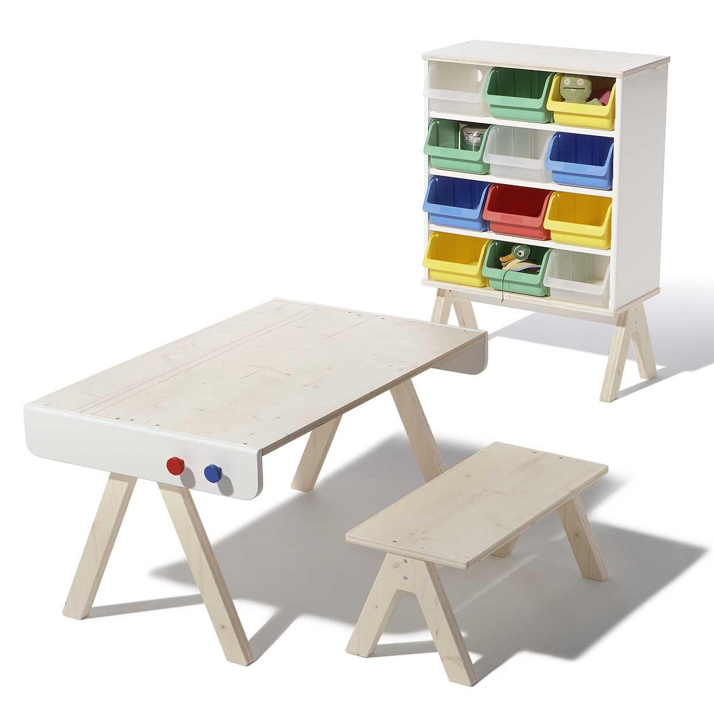 Familie garage modern kids furniture system by richard for Modern kids furniture