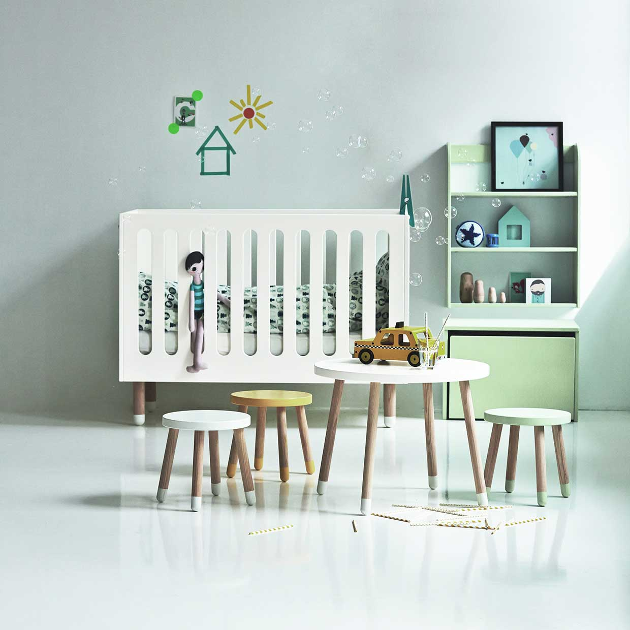 kids furniture blu modern by header dot for