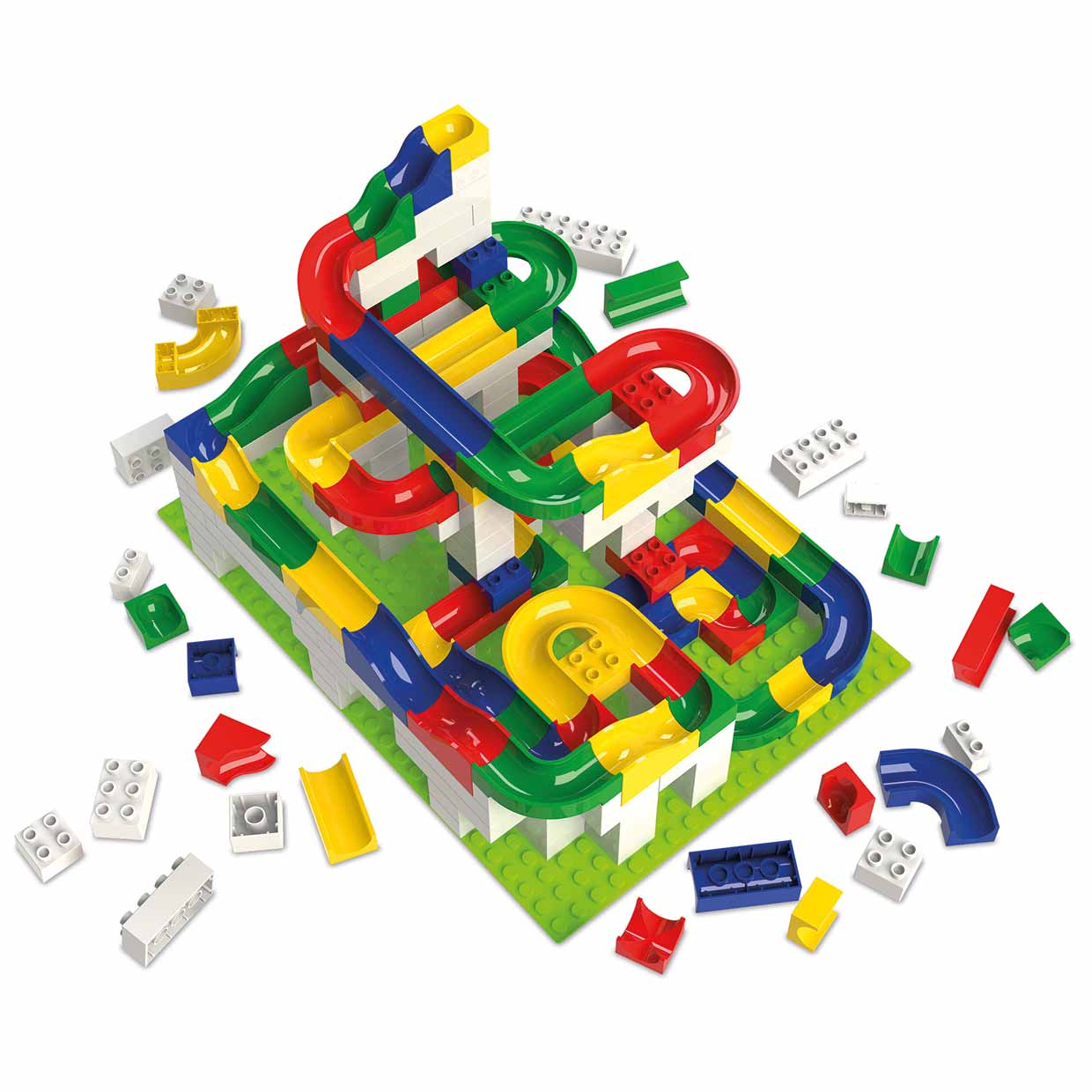 Toys For 4 : Hubelino marble run for kids made in germany