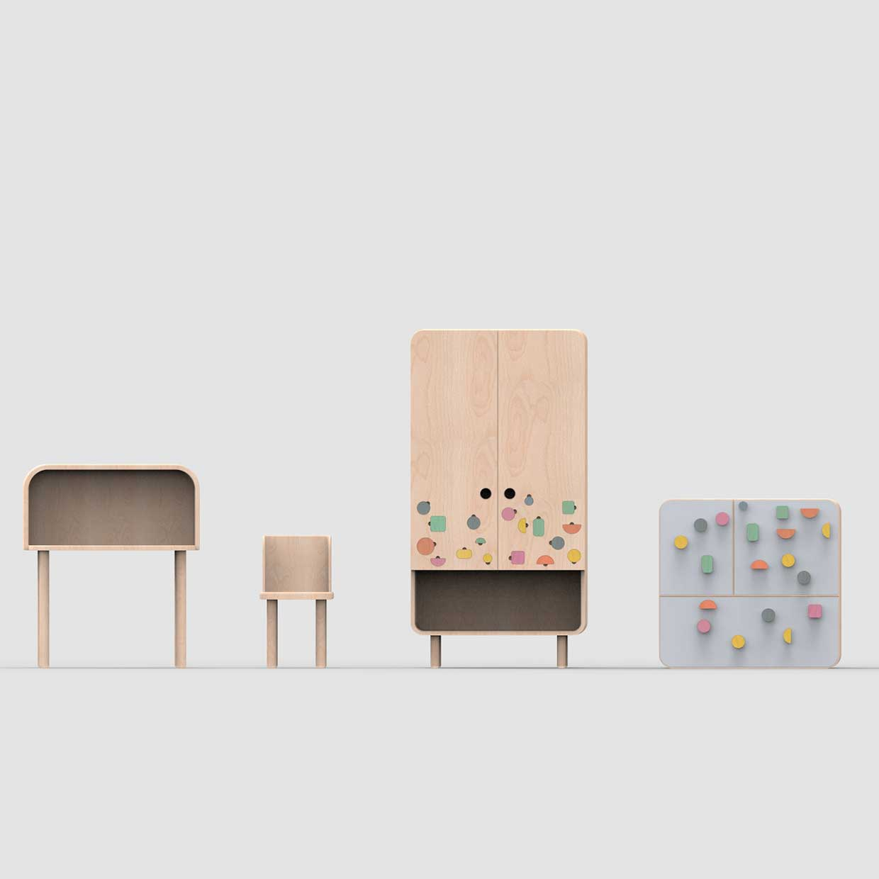 Modern Kids Furniture By Agata Nowak