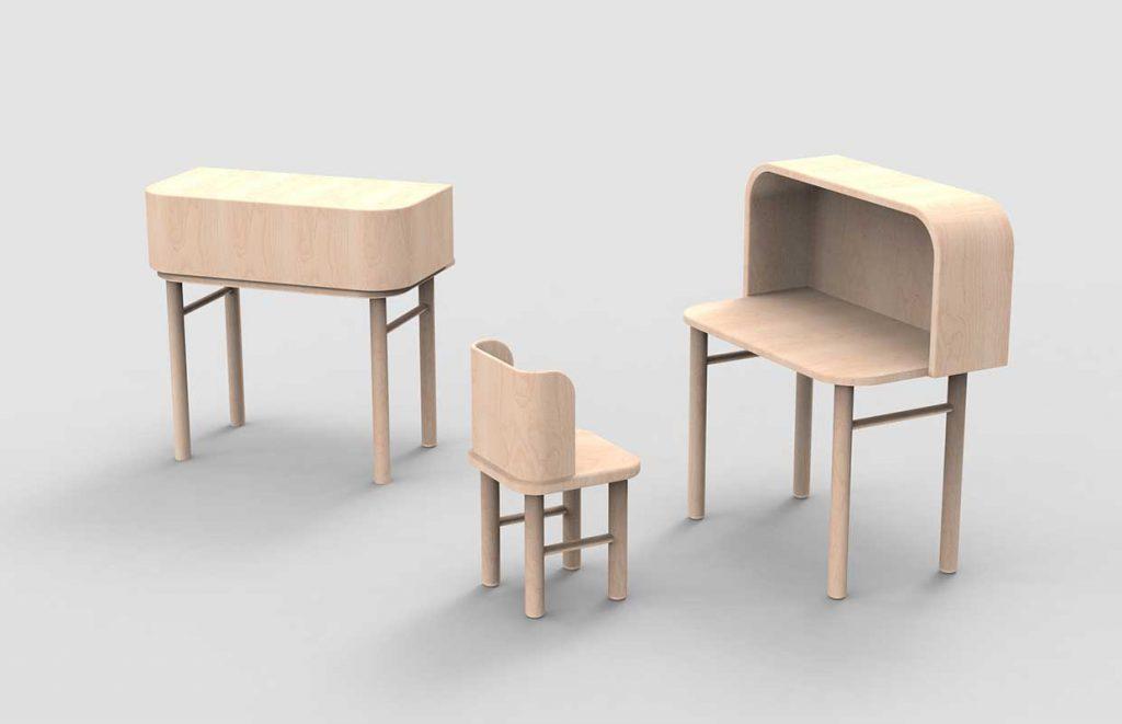 Modern kids furniture by agata nowak afilii design for Modern furniture sites