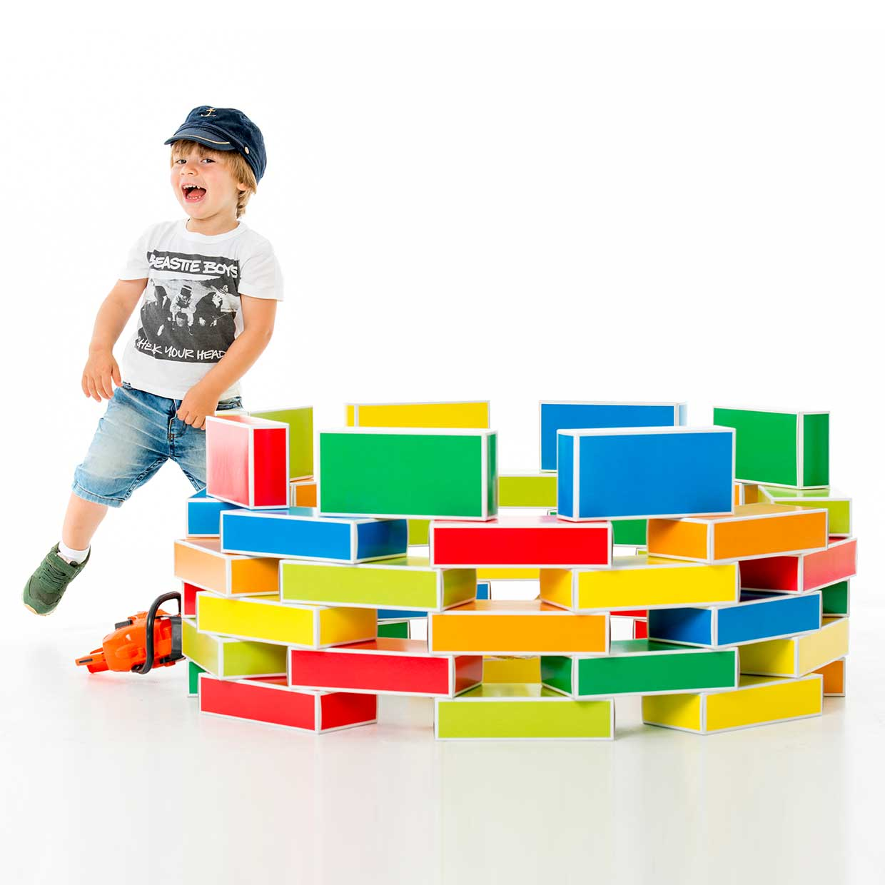 Unique Toys For Toddlers : Buntbox colour bricks eco friendly toys made of