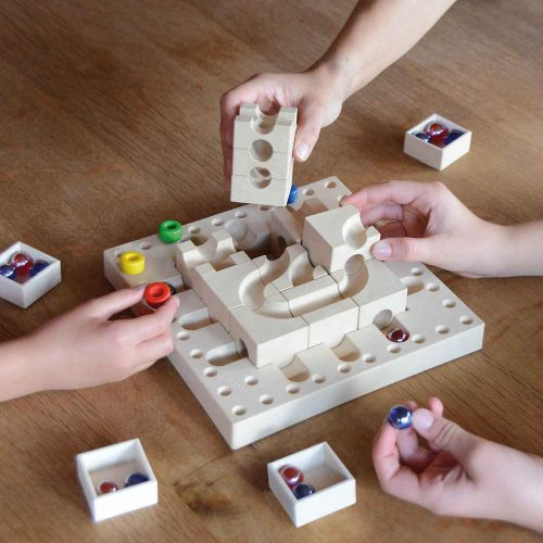 creative-toys-for-kids-marble-run-wood-Cuboro-tricky-ways-fasal