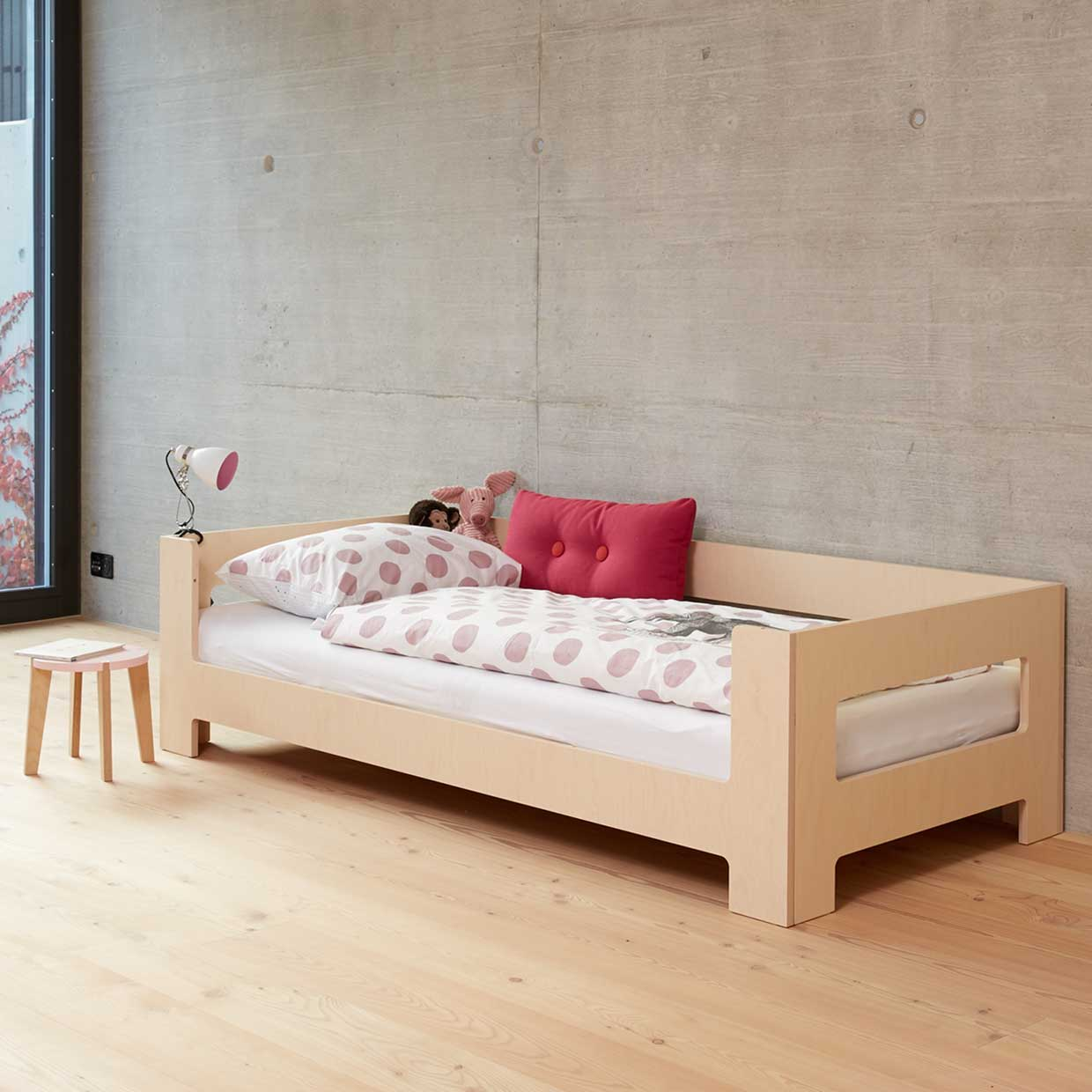 LULLABY by blueroom | growing bed & loft bed for children