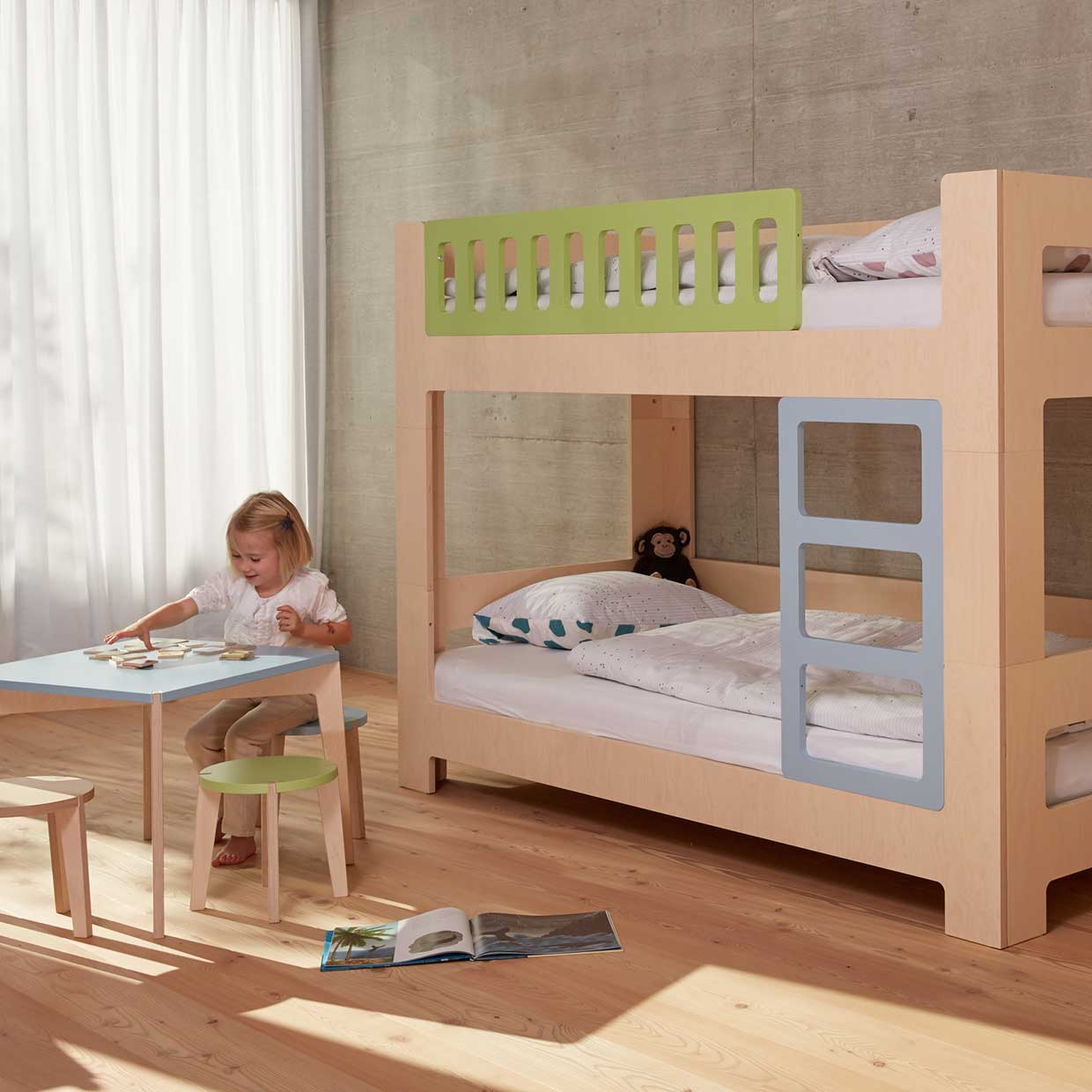 Growing Bed Loft Bed For Children Lullaby By Blueroom
