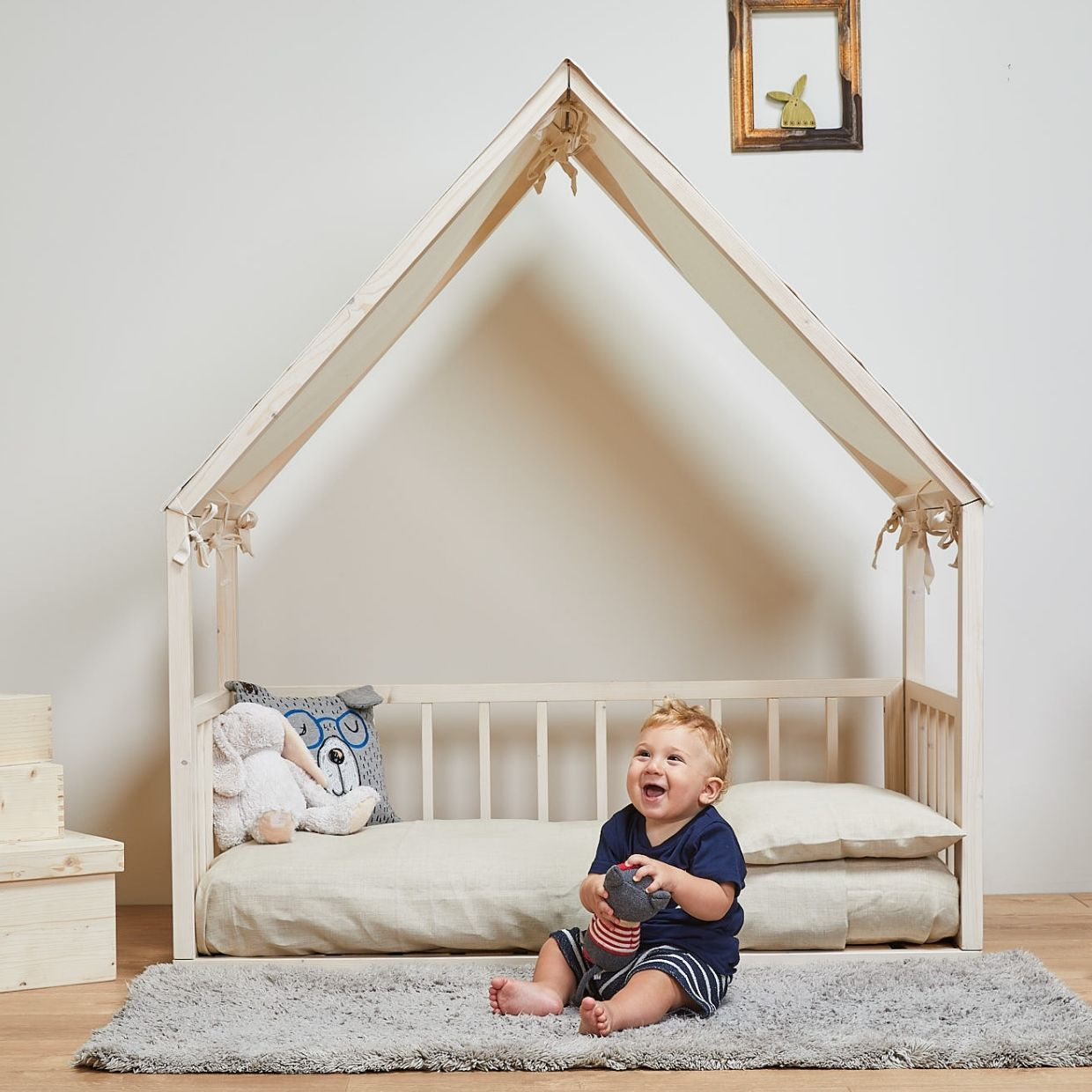 Housebed By Ettomio Eco Friendly Kids Wooden Bed Afilii