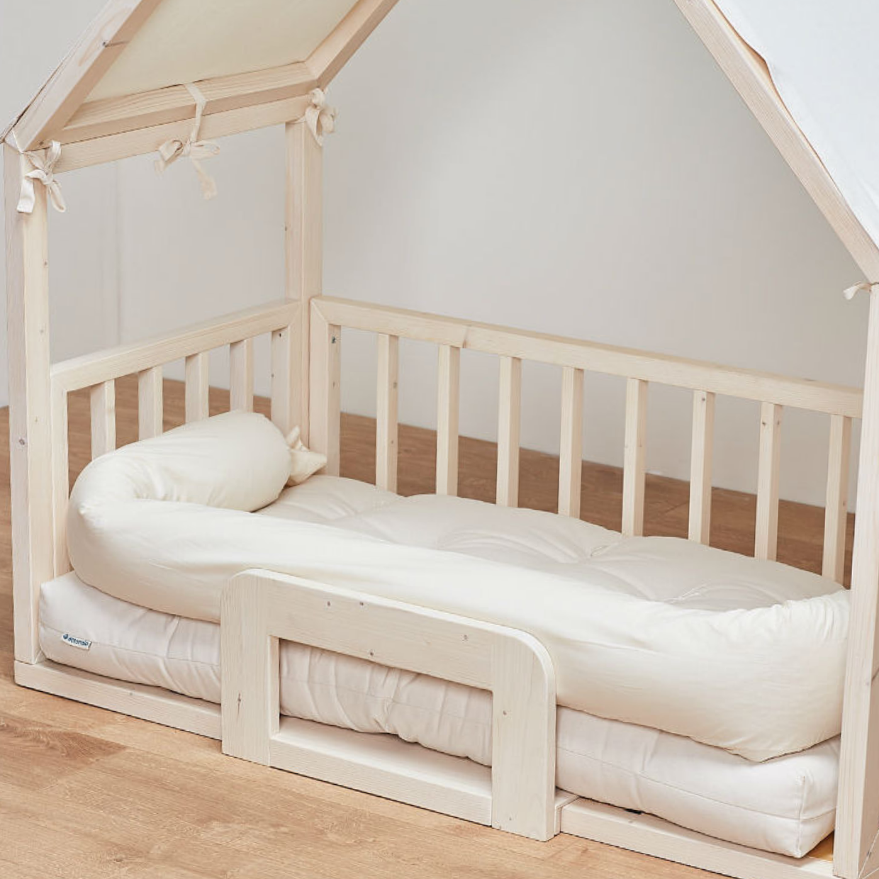 Housebed By Ettomio U2013 Ecofriendly Kids Wooden Bed, Inspired By Maria  Montessori (0+)
