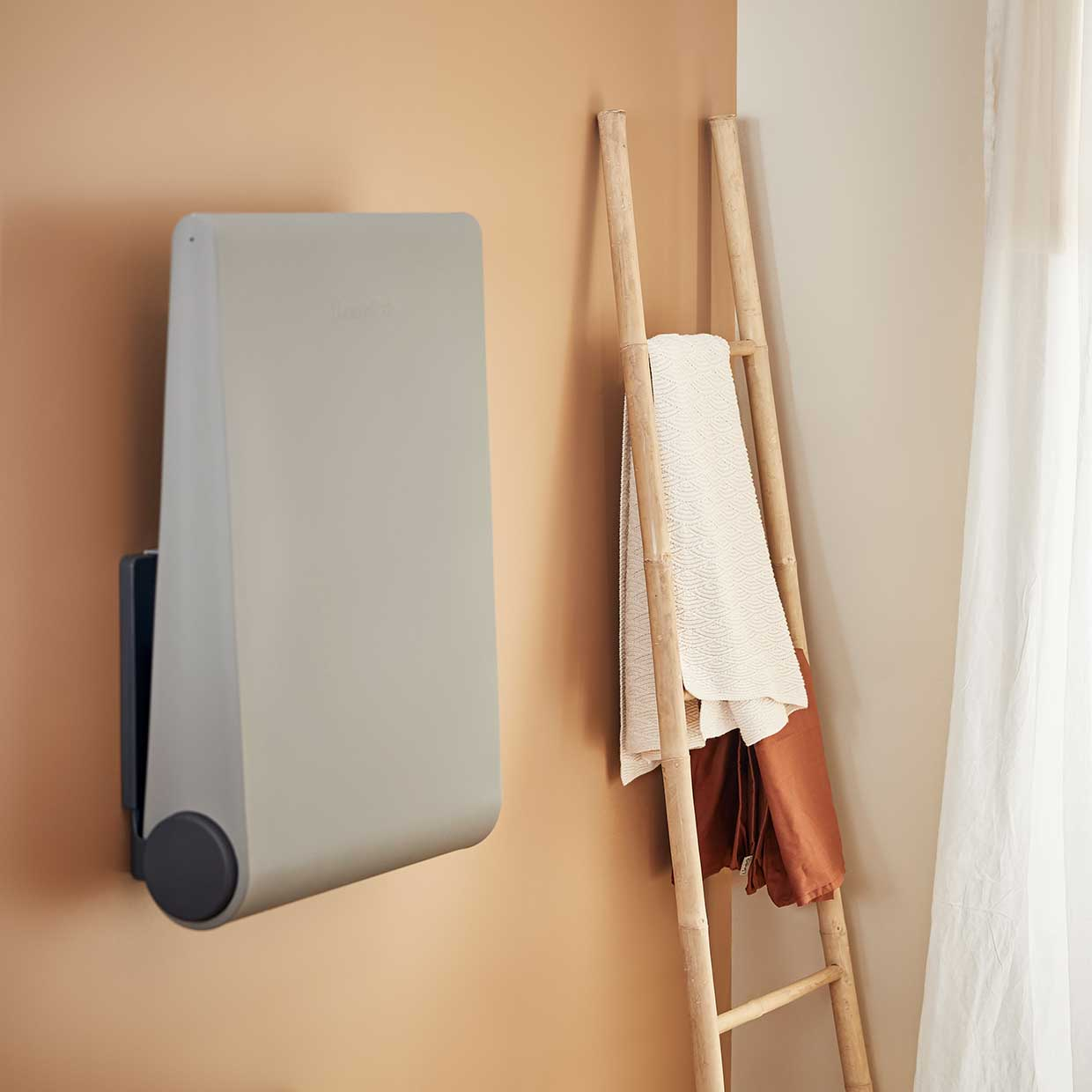 Image of: Wally Wall Mounted Changing Table By Leander Afilii