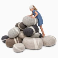 ecological-felt-pebble-play- cushions-by-myfelt-1