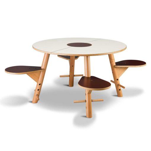 Tavi kinderspieltisch von timkid for Kindertisch rund