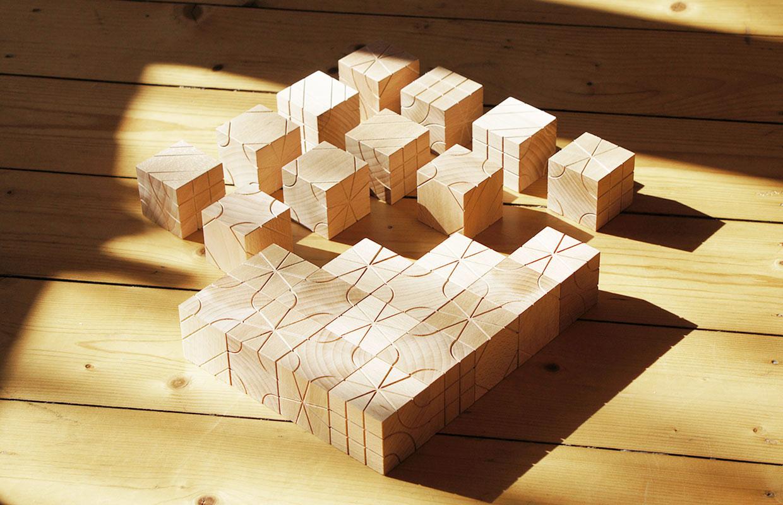 bausteine aus holz kreatives spielzeug afilii design. Black Bedroom Furniture Sets. Home Design Ideas