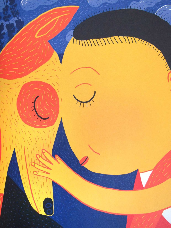 Kinderbuch-Illustration-Die-Welt-sagte-ja-Kullerkupp-Verlag_1